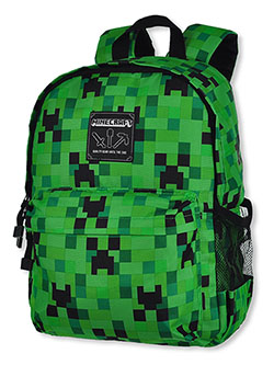 Backpack by Minecraft in Green/black