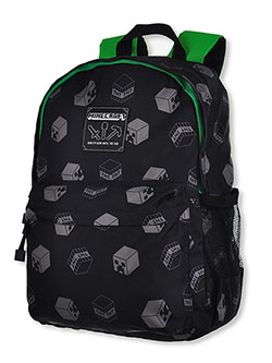 Backpack by Minecraft in Black/green