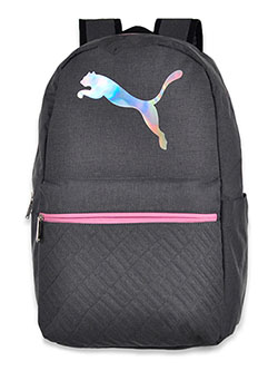 Girls' Rainbow Evercat Backpack by Puma in Pink