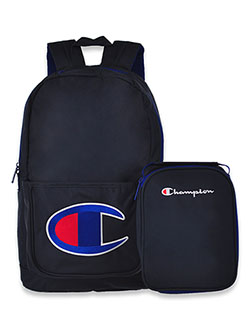 Logo Backpack with Lunchbox by Champion in Multi