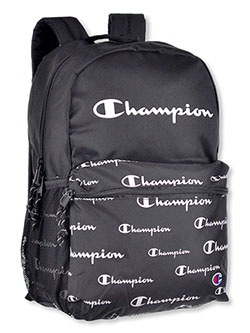 Youth Quake Backpack by Champion in black, black multi and blue