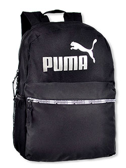 Grand Slam Backpack by Puma in black/blue, black/multi and navy, School Uniforms