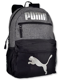 Meridan Backpack by Puma in gray multi and navy