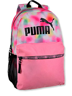 Grand Slam Backpack by Puma in pink and pink/multi, School Uniforms