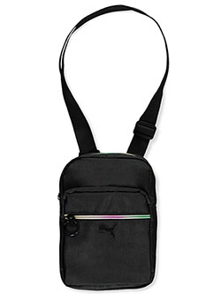 Festival Crossbody Bag by Puma in black camo and pink