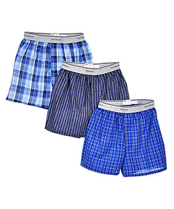 Fruit of the Loom 3 Boys' Boxers (Sizes 8 – 20) - CookiesKids.com