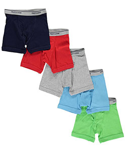 5-Pack Boxer Briefs by Fruit of the Loom in Blue/multi - $12.99