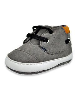 Suede-Look Boat Shoe Booties by U.S. Polo Assn. in Gray