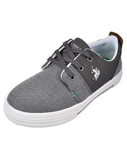 U.S. Polo Assn. Boys' Harvey Sneakers (Youth Sizes 13 – 5.5) - CookiesKids.com