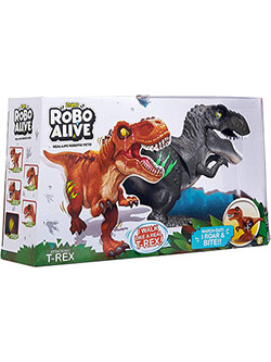 Alive Attacking T-Rex Robotic Toy by Robo