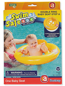 Swim Safe Unisex Baby Double Ring Inner Tube with Seat Step A by Bestway
