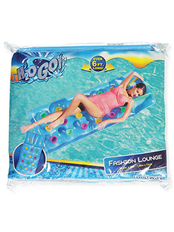 H2O Go! Fashion Lounge Inflatable Swim Mattress by Bestway in Blue