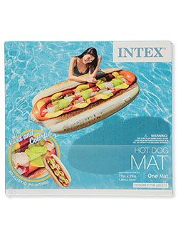 Inflatable Hot Dog Swim Mat by Intex