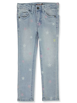 Girls' Starry Skinny Jeans by Studio V in Blue