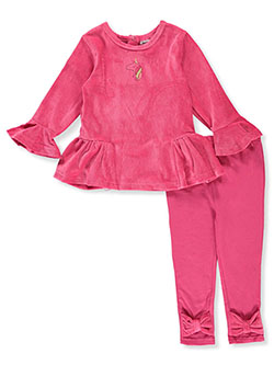 Unicorn 2-Piece Leggings Set Outfit by Vitamins Kids in Multi - Active Sets