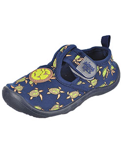 "Aquakiks Boys' ""Sea Turtles"" Water Shoes (Toddler Sizes 5 – 10) - CookiesKids.com"