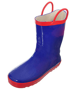 "Shoe Shox Boys' ""City Slicker"" Rain Boots (Youth Sizes 13 – 3) - CookiesKids.com"