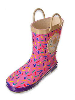 Lilly Girls' Rain Boots (Toddler Sizes 5 – 10) - CookiesKids.com