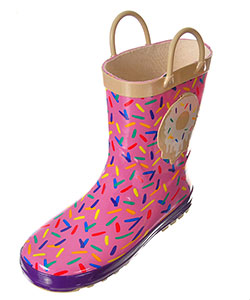 "Lilly Girls' ""Sprinkles"" Rain Boots (Youth Sizes 13 – 3) - CookiesKids.com"