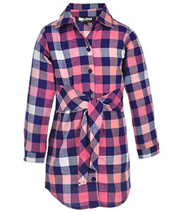 Chillipop Little Girls' Button-Down Dress (Sizes 4 – 6X) - CookiesKids.com