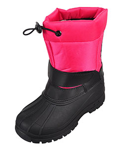 Girls' Winter Boots by Ice20 in Fuchsia/black