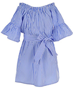 Chillipop Little Girls' Toddler Belted Dress (Sizes 2T – 4T) - CookiesKids.com