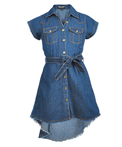 Chillipop Girls' Shirt-Dress - CookiesKids.com