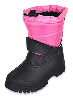 ICE 2 0 Girls' Winter Boots by Ice 2o in Fuschia/black
