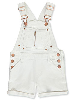 Girls' Twill Shortalls by Girls in White - Overalls & Jumpers