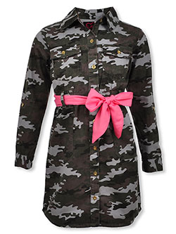 Baby Girls' Belted Camo Dress by Chillipop in Camo - $16.00
