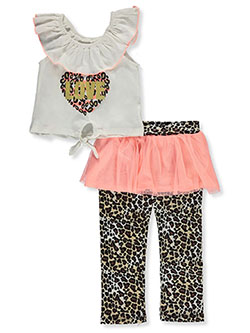 Leopard Love 2-Piece Leggings Set Outfit by Wild in Multi