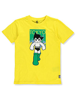 Boys' Tokyo Graphic T-Shirt by Southpole in Cyber yellow