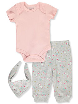 Emporio Cool Girl 5-Piece Layette Set by Emporio Baby in Multi