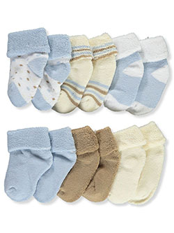6-Pack Foldover Socks by Mary Jane & Buster in Multi - $4.99