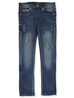 Boys' Stretch Skinny Jeans by N-Amsterdam in Indigo