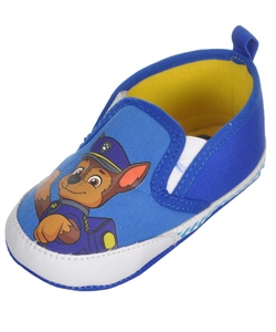 "Paw Patrol Baby Boys' ""Chase Smile"" Slip-On Booties - CookiesKids.com"