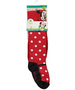 "Minnie Mouse Baby Girls' ""Polka Mary Jane"" Thigh-High Socks - CookiesKids.com"