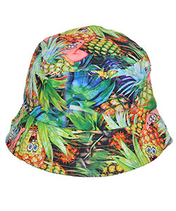"SpongeBob Squarepants ""Pineapple Print"" Bucket Hat (Youth One Size) - CookiesKids.com"