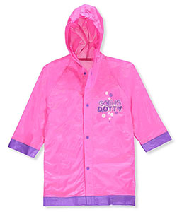 Minnie Mouse Little Girls' Rain Jacket (Sizes 4 – 7) - CookiesKids.com