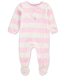 Absorba Baby Girls' Footed Coverall - CookiesKids.com