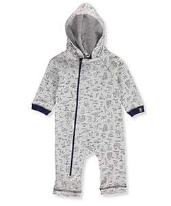 Absorba Baby Boys' Hooded Coverall - CookiesKids.com
