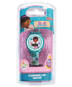 Doc McStuffins Flashing LCD Watch - CookiesKids.com
