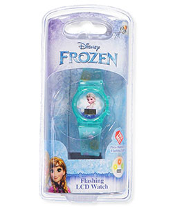 Disney Frozen Flashing LCD Watch - CookiesKids.com