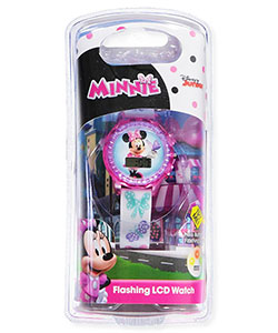 Minnie Mouse Flashing LCD Watch - CookiesKids.com