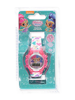 Shimmer and Shine Flashing LCD Watch - CookiesKids.com