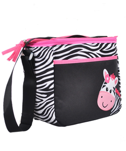 "Tender Kisses ""Smiley Zebra"" Bottle Bag - CookiesKids.com"