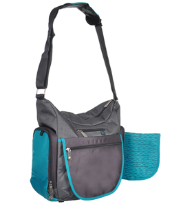 Fisher-Price Deluxe Crossbody Hobo Diaper Bag - CookiesKids.com