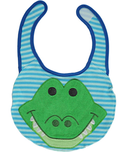 "Disney ""Alligator Smile"" Reversible Bib - CookiesKids.com"