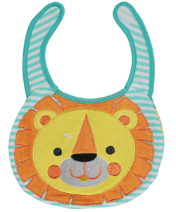 "Disney ""Lion Smile"" Reversible Bib - CookiesKids.com"