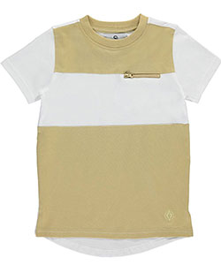 "Akademiks Little Boys' ""Mono Zip"" T-Shirt (Sizes 4 – 7) - CookiesKids.com"